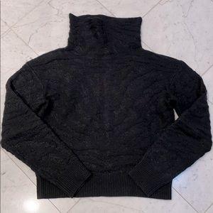 Carven Black turtleneck sweater